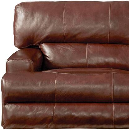 Catnapper 7645807128319308319 Wembley Series Contemporary Leather Metal Frame  Recliners