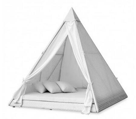 "TOV Furniture TOV69PYRAMID 87""  Outdoor Bed"