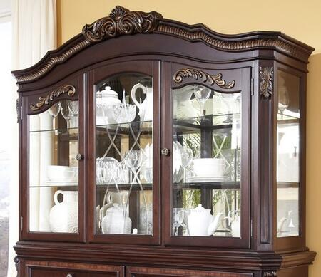 Benchcraft D67881 Wendlowe Series Hutch with 2 Shelves