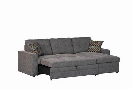 Coaster 501677 Gus Series Stationary Fabric Sofa