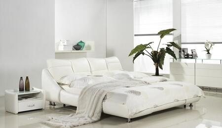 Casabianca CBD171QW Mirage Series  Queen Size Platform Bed
