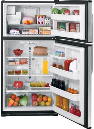 GE GTH21SCXSS  Refrigerator with 21.0 cu. ft. Capacity in Stainless Steel