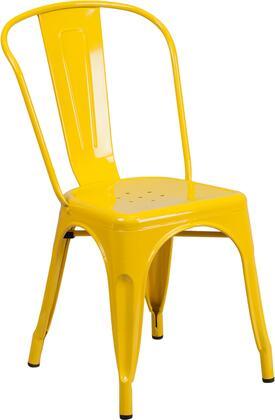 Flash Furniture CH-31230 Metal Indoor-Outdoor Stackable Chair