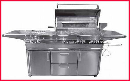 FireMagic E660S2A1P71 Freestanding Grill, in Stainless Steel