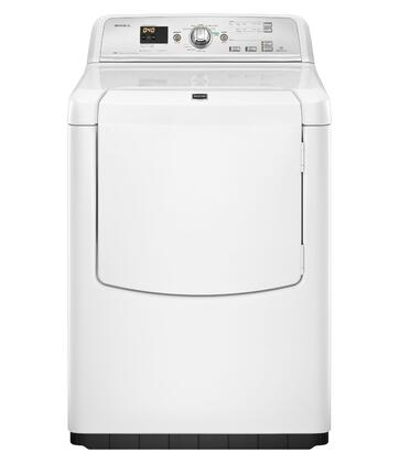 "Maytag MEDB750YW Front Load Electric 7.3 cu. ft. Capacity No 29"" Digital and Knobs No Standard Dryer 