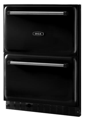 AGA ARD24BLK  Compact Refrigerator with 5.6 cu. ft. Capacity in Black
