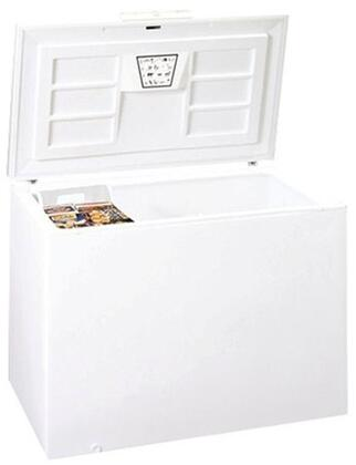 Summit WCHx Chest Freezer with Plastic Baskets, Manual Defrost, Power On Light, Mechanical Dial, in White