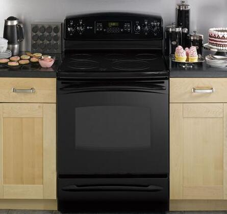 "GE Profile PB900DPBB 30"" Profile Series Electric Freestanding |Appliances Connection"