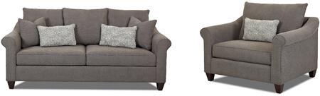 Klaussner K30300KL2PCARMKIT1 Diego Living Room Sets