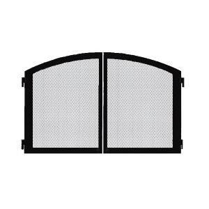 Majestic DMCXXCDBT Cabinet Doors with Screen in Black