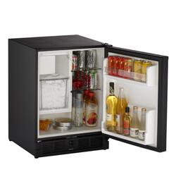 U-Line CO29B20  Built In Counter Depth Compact Refrigerator with 2.1 cu. ft. Capacity, 2 Glass ShelvesField Reversible Doors