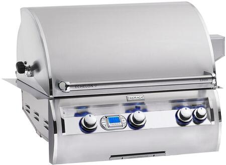 FireMagic E660I4A1Nx Built-in Echelon Diamond, w/ Backburner and Rotisserie Kit, All Infrared Burners and Stainless Rod Cooking Grids