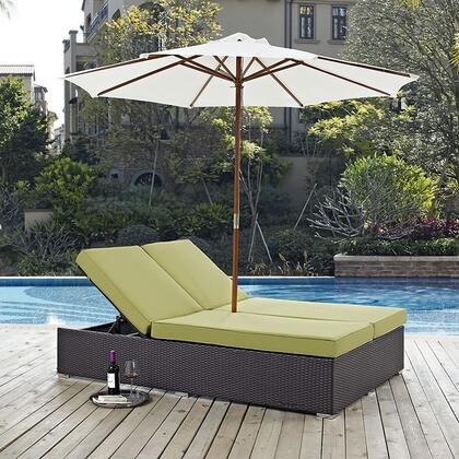 """Modway EEI2180EXPPERSET 82.5"""" Water Resistant Lounge Chair"""