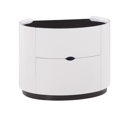 Global Furniture USA GIAWHNS Gia Series  Wood Night Stand