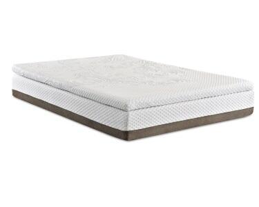 "Enso PINNACLE Pinnacle 13"" Size 2"" PureGel Plus APR Memory Foam Mattress with 1"" HR Support Foam, 1"" HD Polyurethane Base Foam and Foam Encased Border Edge"