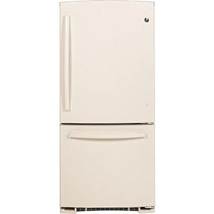 GE GBS20EGHCC  Bottom Freezer Refrigerator with 20.3 cu. ft. Capacity in Bisque