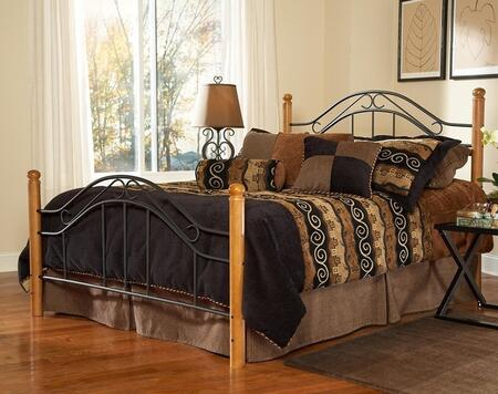 Hillsdale Furniture 164BKR Winsloh Series  King Size Poster Bed