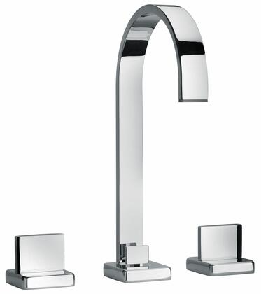 Jewel Faucets 15214XX Two Lever Handle Widespread Lavatory Faucet With Classic Ribbon Spout