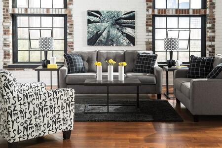 Milo Italia MI9881SLWBACCHAR Lorena Living Room Sets