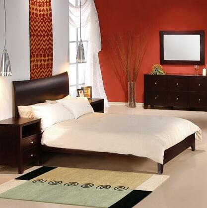 LifeStyle Solutions CNV5PQNCPSET Canova Queen Bedroom Sets