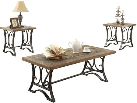 Acme Furniture 81125 Transitional Living Room Table Set