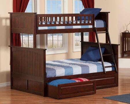 Atlantic Furniture AB59224  Twin over Full Size Bunk Bed