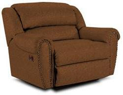 Lane Furniture 21414185521 Summerlin Series Transitional Fabric Wood Frame  Recliners
