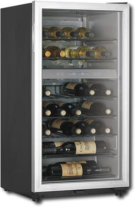 "Haier HVZ035ABS 22.25"" Freestanding Wine Cooler"