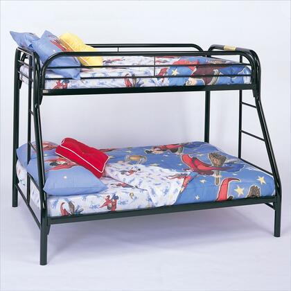Coaster 2258K Fordham Series  Twin over Full Size Bunk Bed