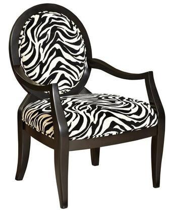 Powell 502936 Armchair Fabric Wood Frame Accent Chair