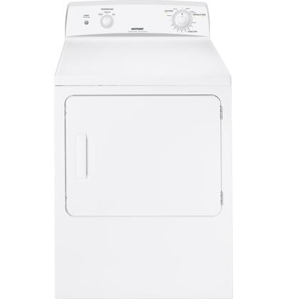 "Hotpoint HTDX100GMWW 27"" Gas Dryer"