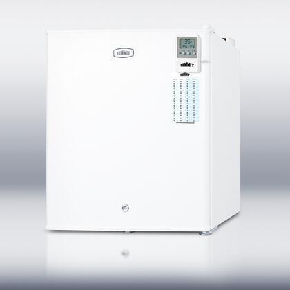 Summit FFAR22LMEDDTLHD MEDDT Series Freestanding Counter Depth Compact Refrigerator with 1.6 cu. ft. Capacity, 1 Wire Shelf