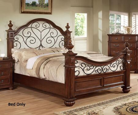 Furniture of America CM7811EKBED Landaluce Series  Eastern King Size Bed