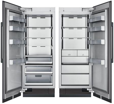 Dacor 865642 Modernist Side-By-Side Refrigerators