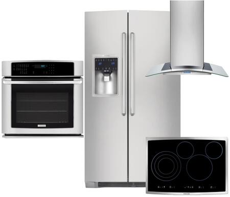 Electrolux 350355 IQ-Touch Side-By-Side Refrigerators