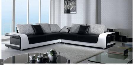 VIG Furniture VGBNB333  Leather Match Sofa