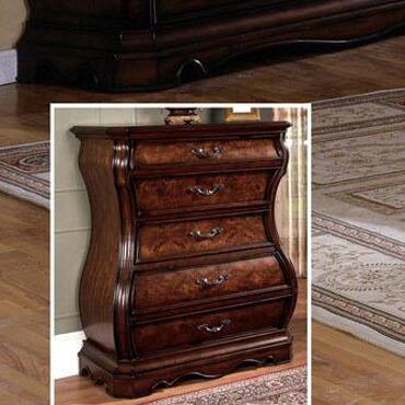 Yuan Tai SH2225CH Shevon Series Wood Chest