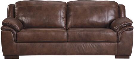 Milo Italia MI287231CANY Caiden Series  Leather Sofa