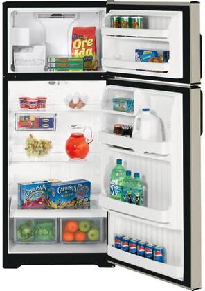 Hotpoint HTM18GCSSA  Refrigerator with 18.2 cu. ft. Capacity in Stainless Steel