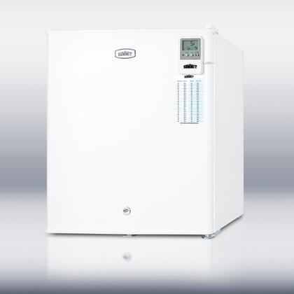 "Summit FS22LMED Freestanding Upright 1.42 cu. ft. No 17.38"" Freezer |Appliances Connection"