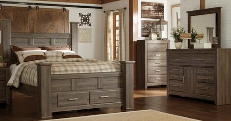 Milo Italia BR371QPSBTDMC Reeves Queen Bedroom Sets