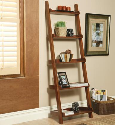 Coaster 800253 Wood 5 Shelves Bookcase