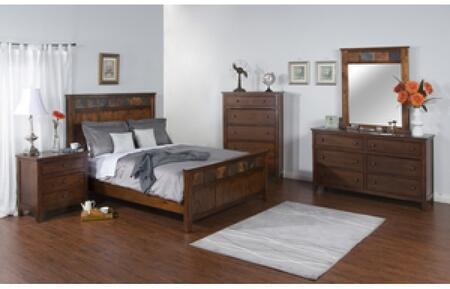 Sunny Designs 2334DCKBDMNC Santa Fe King Bedroom Sets