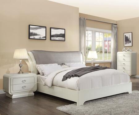 Acme Furniture Bellagio 4 Piece King Size Bedroom Set