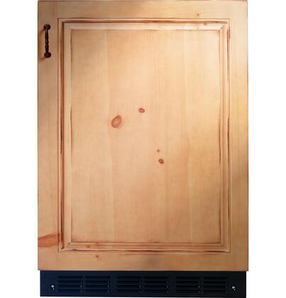 "GE Monogram ZIBI240PII 24"" Monogram Series Built In Counter Depth Compact Refrigerator with 4.25 cu. ft. Capacity, 3 Glass Shelves"