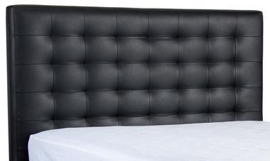 Diamond Sofa ZENBEDQUEENHB Bonded Leather Queen Size Bed Headboard: