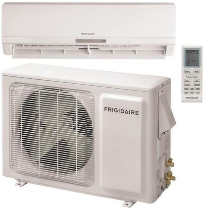 Frigidaire FFHPx2S2 Single Zone Ductless Mini-Split Air Conditioner with Cooling/Heating Capacity, Effortless Remote Control, Whisper Quiet Operation, Turbo Mode, and Sleep Mode: White