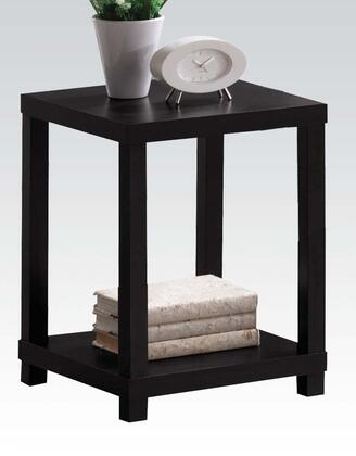 Acme Furniture 08277 Wei Series Contemporary Wood Square End Table