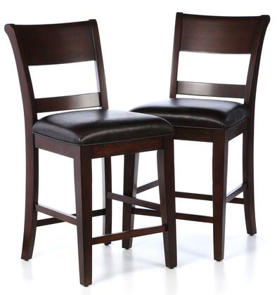 Hillsdale Furniture 4692822 Park Avenue Series Transitional Faux Leather Wood Frame Dining Room Chair