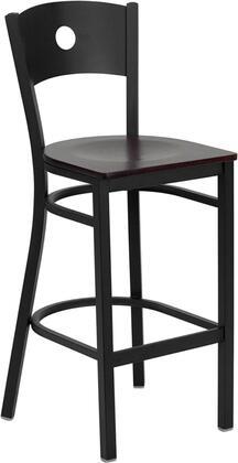 Flash Furniture XUDG60120CIRBARMAHWGG Hercules Series Not Upholstered Bar Stool